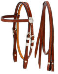 Mini Horse Basketweave Browband Headstall