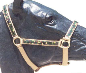 Camouflage on Ice Horse Halter
