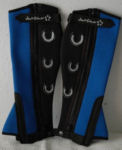 Child's Sleek Half Chaps in Blue