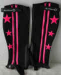 Child's Sleek Half Chaps in Pink