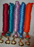 Eye-Catching Lead Ropes - Solid Colors