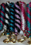 Eye-Catching Lead Ropes - Stripe Colors