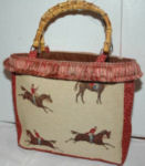 Redcoat Equestrian Purse