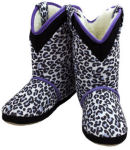 Cicciabella Cowgirl Riders Snow Leopard Slippers