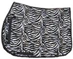 Zebra Saddle Pad