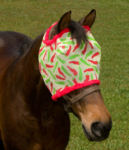 chili pepper horse fly mask