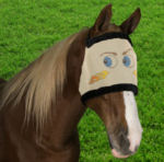 mr blue eyes fly mask