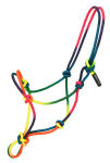 Rainbow Rope Halter