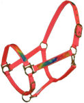 Orange Tie Dye Horse Halter