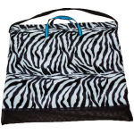 Zebra Saddle Pad Bag