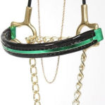 Green Mini Horse Halters